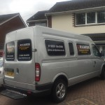Keep a look out for our van with the new logo on it